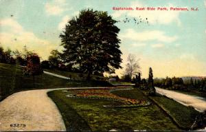 New Jersey Paterson East Side Park Esplanade 1911