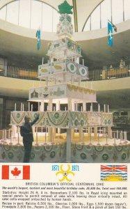 B.C., Canada , 1970s ; Centennial Cake