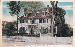 New Hampshire Portsmouth Old Governor Langdons House Built 1784