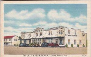 Alabama Mobile Malbis Restaurant U S Highway 90 Curteich sk2826