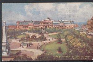Argentina Postcard - Piaza De Mayo Y Casa De Gobierno, Buenos Aires T2978