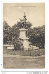 CONAKRY, Guinea, 00-10s  La Statute du Gouverneur Ballay