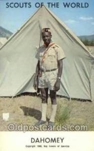Dahomey Boy Scouts of America, Scouting Postcard, Post Cards, Copyright 1968 ...