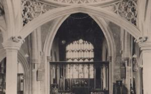 St Saint Marys Rushden Church Postcard