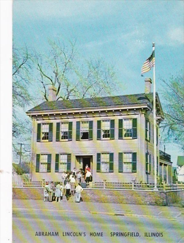 Illinois Springfield Abraham Lincoln's Home 1982