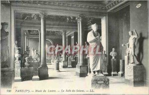 Old Postcard Louvre Museum Paris (I) The Hall of Seasons