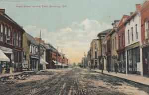 STRATHROY , Ontario , Canada, 1911 ; Front Street Looking East