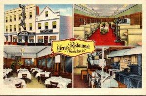 South Carolina Charleston Larry's Restaurant Multible Interior Views