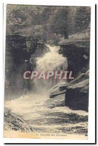 Bourganeuf (vicinity) Old Postcard The cascade of Jarreaux