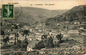 CPA Les Vosges - CORNIMONT - Vue générale (455810)