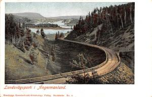Sweden Old Vintage Antique Post Card Landsvagsparti I Angermanland Unused