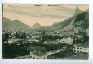 158249 Brazil RIO DE JANEIRO Botafogo Vintage RPPC