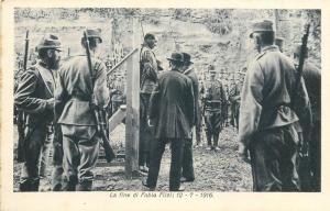 Italy Trentino Patriotic Irredentist Martyr the end of Fabio Filzi 12 - 7 - 1916