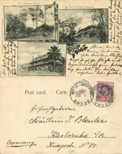 gold coast, ghana, ABURI, Government Garden & Sanatorium, Mission Station (1905)