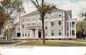 Newton Club Newtonville Massachusetts 1905c postcard
