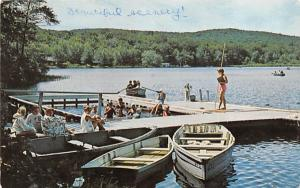 Camp Chickagami Central Valley, New York Postcard