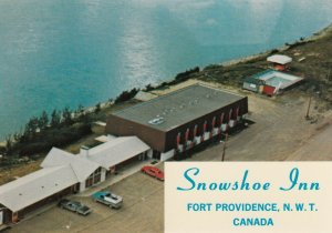 Fort Providence , N.W.T. , Canada , 1960s-80s ; Snowshoe Inn