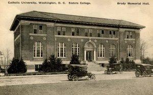 DC - Washington. Catholic Univ. of America. Sisters College, Brady Memorial Hall