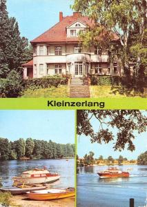 Kleinzerlang Rheinsberg, Cafe am Paelitzsee Lake Boats Bateaux