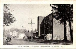 Connecticut Bantam Street Scene Showing Trumbull Vanderpoel Company