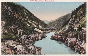 FRASER CANYON, British Columbia, Canada, 1900-1910s; Hell's Gate