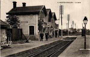 CPA AK Nantes-Doulon La Gare (611050)