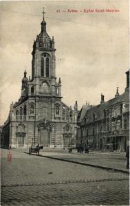 CPA Reims - Église Saint-Maurice (742798)