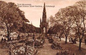 Scott Monument, East Princes Street Edinburgh Scotland, UK Unused