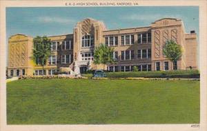 Virginia Radford High School Building
