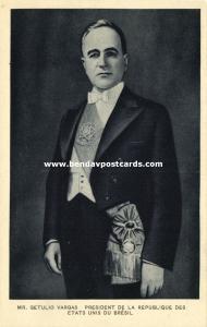 brazil, President Mr. Getúlio Dornelles Vargas (1930s)