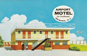 New Jersey Newark The Airport Motel sk7539