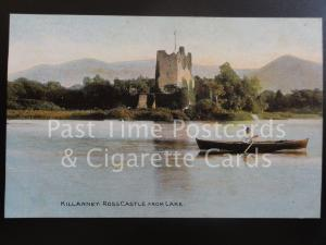 Co Kerry: Killarney, Ross Castle from Lake, Old PC