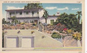 California Santa Monica Home Of Janet Gaynor
