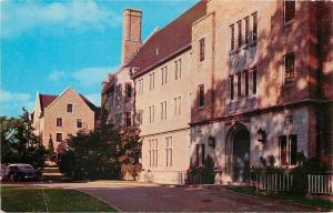Wooster Ohio~Wooster College Babcock Hall, Woman's Dormitory 1950s Postcard