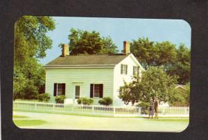 MI Dearborn Michigan Henry Ford Cars Automobiles Birthplace House Postcard