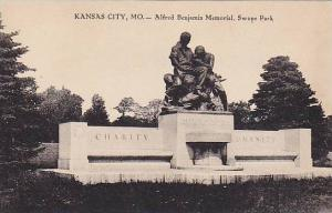 Alfred Benjamin Memorial, Swope Park, Kansas City, Missouri, 1910-1920s