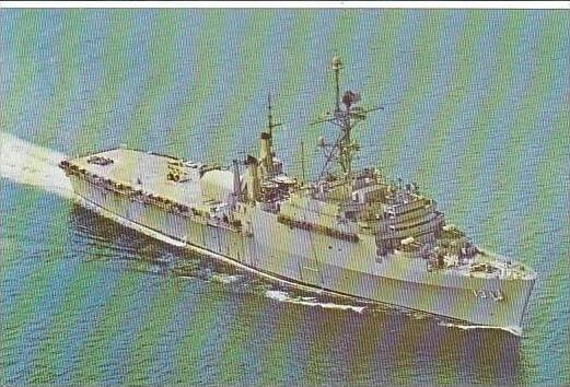 U S S NASHVILLE LPD-13