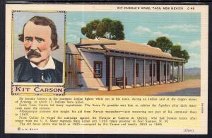 Kit Carson's Home,Taos,NM