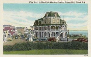 BLOCK ISLAND , R.I. , 1910-30s ; Main Street Looking North