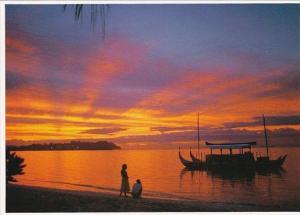 Guam Sunset In Paradise