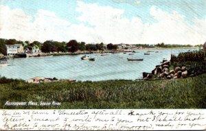 Massachusetts Annisquam Scene Along Squaw River 1906