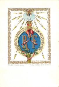 Republique Francaise R. F. Beautiful Pioneer Verlag von Paul Kohl Pioneer PC