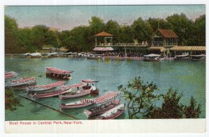 New York, Boat House in Central Park