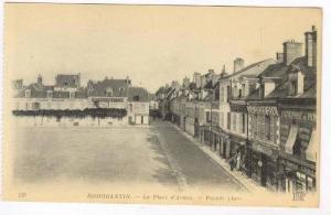 Romorantin (Loir-et-Cher), France, 1900-10s La Place d'Armes