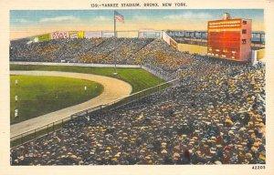 Yankee Stadium, Bronx, New York City, USA Baseball Stadium Unused