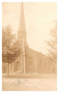 New York  Angola , Congregational Church ,  RPC