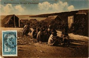 CPA ADRAHOMANA Groupe d'Antatsimo MADAGASCAR (709628)