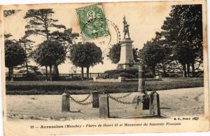 CPA AVRANCHES - Pierre de Henri II et Monument (149760)