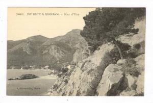 Mer d'Eze, De Nice A Monaco, Nice (Alpes Maritimes), France, 1900-1910s