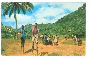 Voodoo & Stick Dancers, Haiti, West Indies, 1940-1960s
